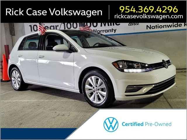 2018 Volkswagen Golf 1.8T SE 4-Door FWD