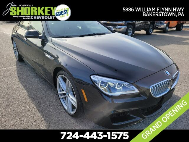 2016 BMW 6 Series 650i xDrive Gran Coupe AWD