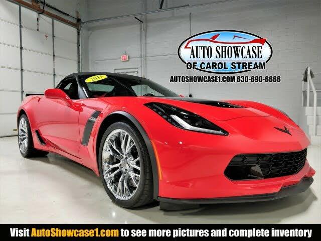 2015 Chevrolet Corvette Z06 3LZ Convertible RWD