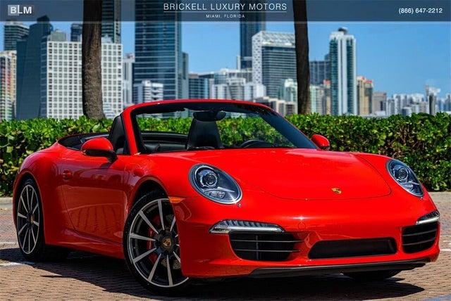 2013 Porsche 911 Carrera S Cabriolet RWD