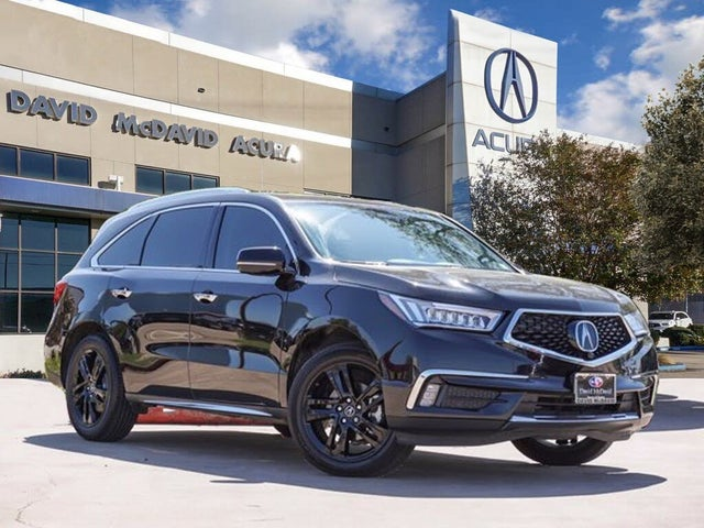 2018 Acura MDX SH-AWD with Advance Package