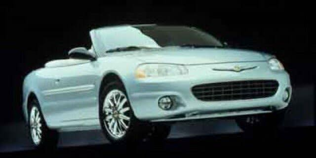 2002 Chrysler Sebring Limited Convertible FWD