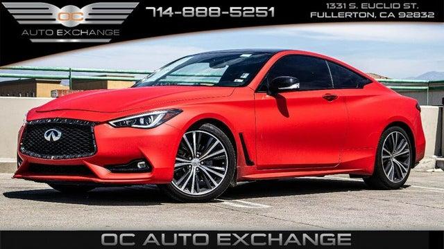 2017 INFINITI Q60 3.0t Premium Coupe RWD