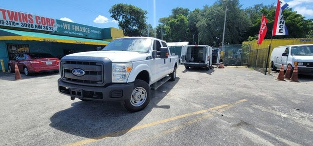 2015 Ford F-250 Super Duty XL Crew Cab 4WD