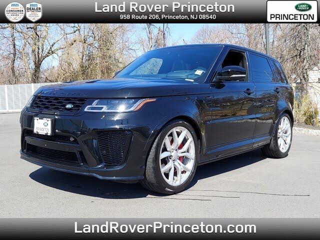 2018 Land Rover Range Rover Sport V8 SVR 4WD