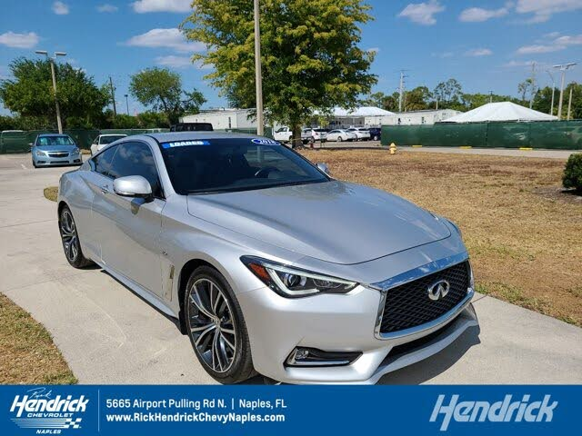 2018 INFINITI Q60 2.0t Pure Coupe AWD