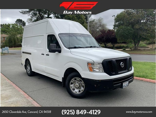 2017 Nissan NV Cargo 2500 HD SV with High Roof