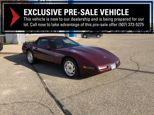 1993 Chevrolet Corvette Convertible RWD