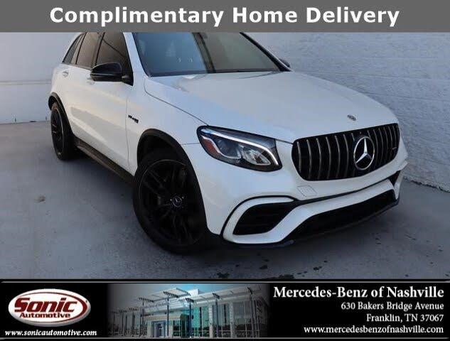 2019 Mercedes-Benz GLC-Class GLC AMG 63 4MATIC AWD