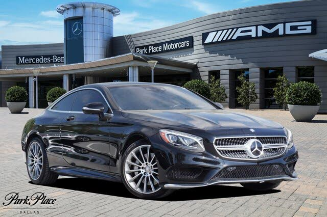 2015 Mercedes-Benz S-Class Coupe S 550 4MATIC
