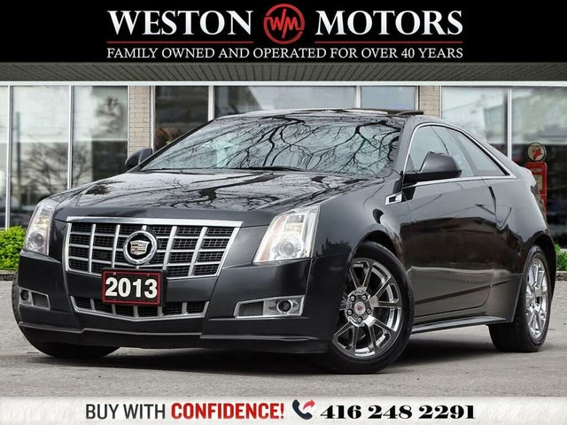 2013 Cadillac CTS Coupe 3.6L Premium AWD