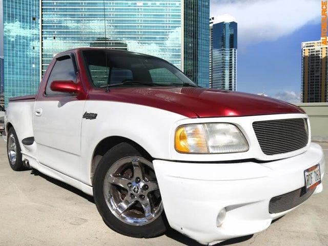 1999 Ford F-150 SVT Lightning 2 Dr Supercharged Standard Cab Stepside SB