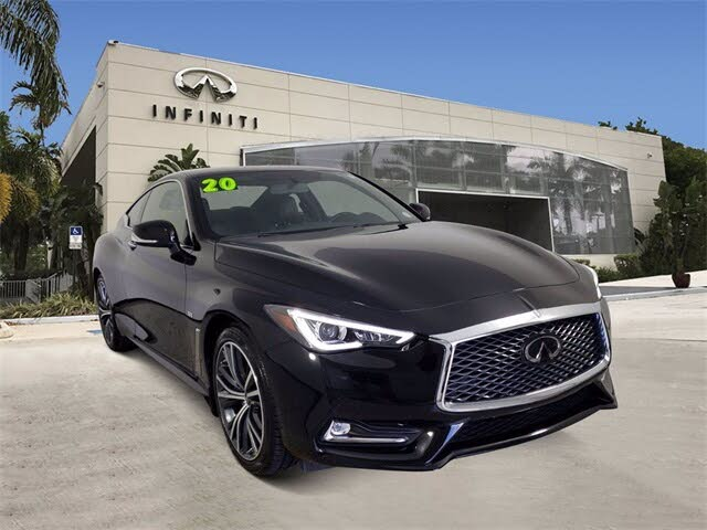 2020 INFINITI Q60 3.0t Pure Coupe AWD