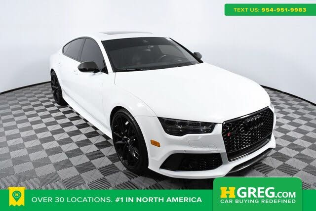 2018 Audi RS 7 4.0T quattro Performance AWD