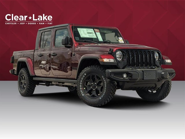 2021 Jeep Gladiator Willys Crew Cab 4WD