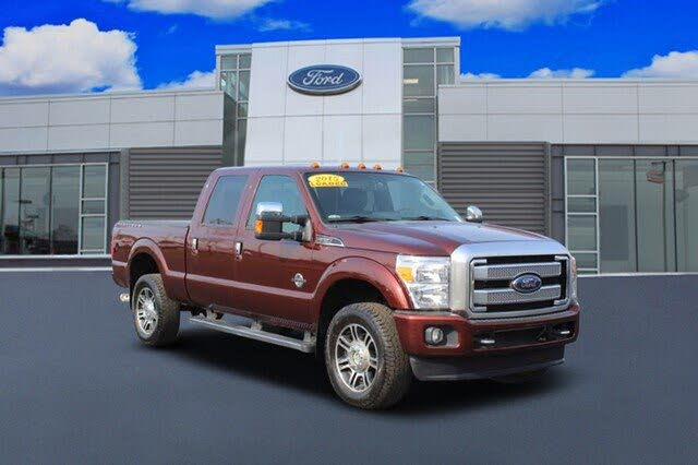 2015 Ford F-350 Super Duty Platinum Crew Cab LB 4WD