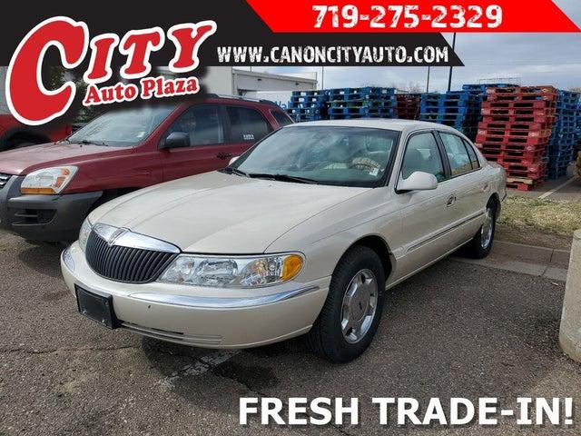 2002 Lincoln Continental FWD