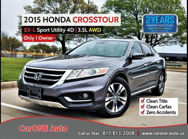 2015 Honda Crosstour EX-L V6 AWD