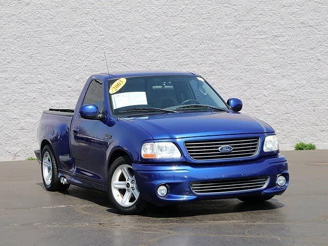 2003 Ford F-150 SVT Lightning 2 Dr Supercharged Standard Cab Stepside SB