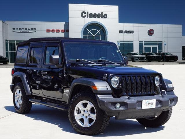 2018 Jeep Wrangler Unlimited Sport S 4WD