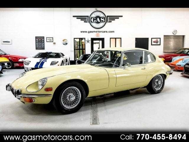 1971 Jaguar E-TYPE Series II 4.2L Fixed Head Coupe RWD