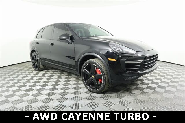 2016 Porsche Cayenne Turbo AWD