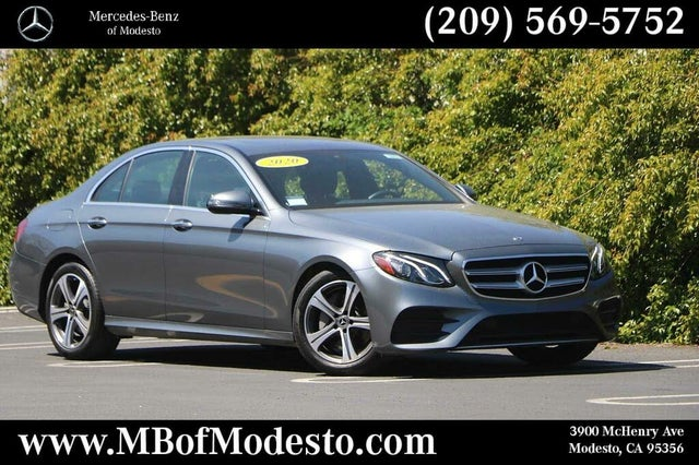 2020 Mercedes-Benz E-Class E 350 Sedan RWD