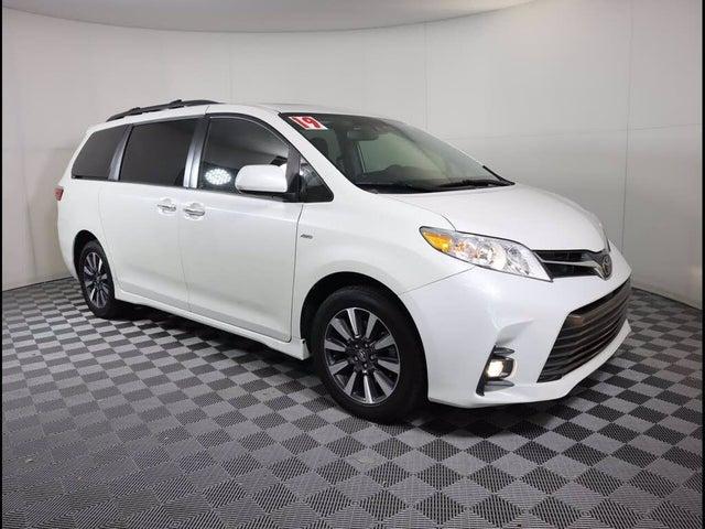 2019 Toyota Sienna XLE Premium 7-Passenger AWD