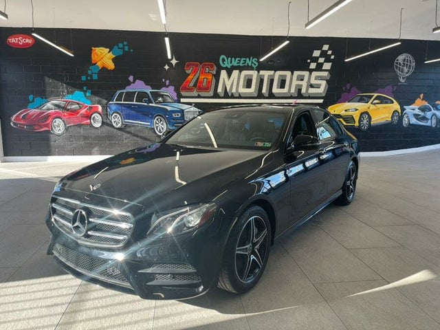 2018 Mercedes-Benz E-Class E 300 4MATIC Sedan AWD