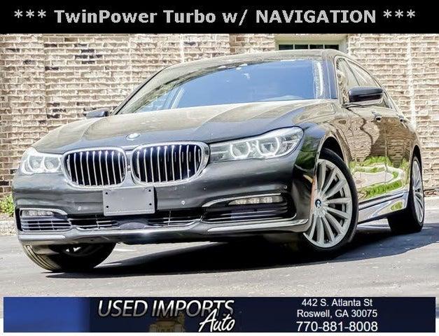 2016 BMW 7 Series 740i RWD