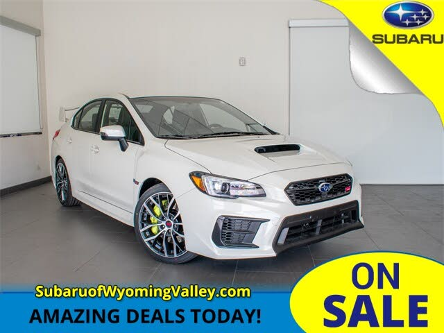 2021 Subaru WRX STI Limited AWD with Wing Spoiler