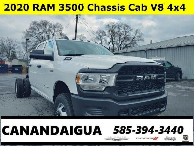 2020 RAM 3500 Chassis Tradesman Crew Cab DRW 4WD