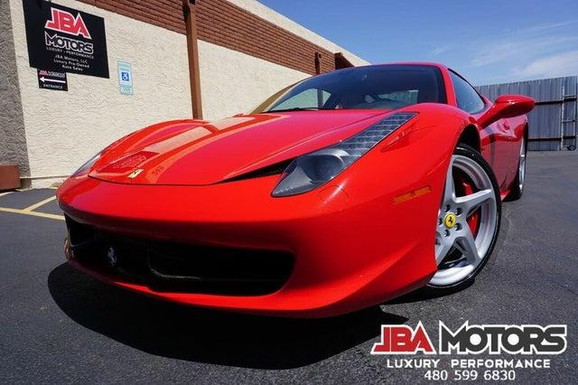 2013 Ferrari 458 Italia Coupe RWD
