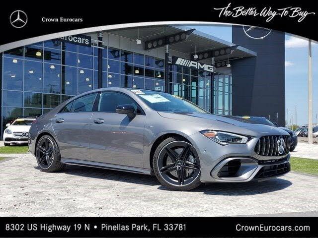 2021 Mercedes-Benz CLA-Class CLA AMG 45 4MATIC AWD