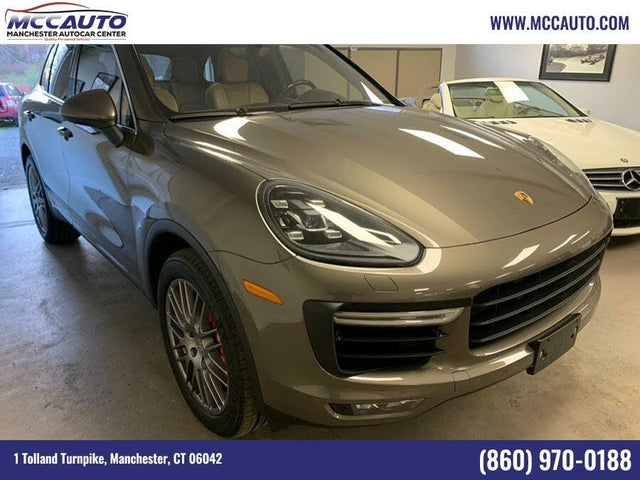 2015 Porsche Cayenne Turbo AWD