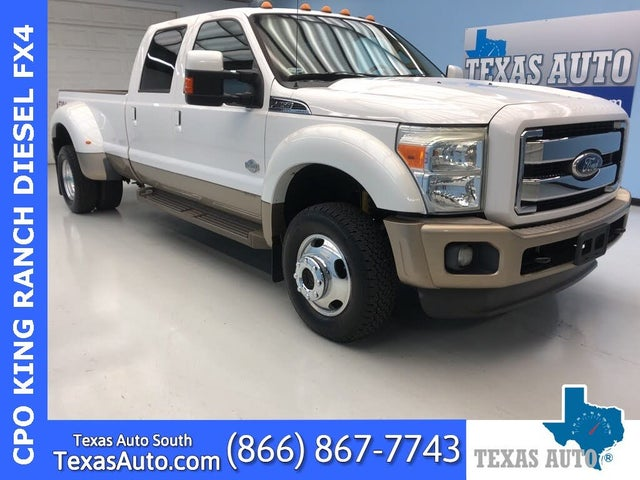 2011 Ford F-450 Super Duty King Ranch Crew Cab LB DRW 4WD