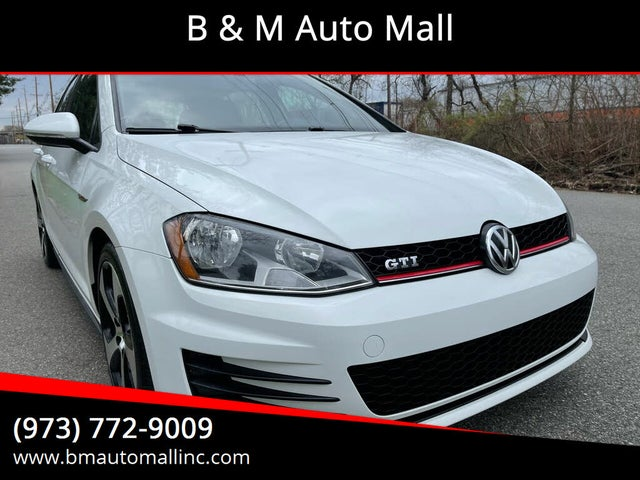 2015 Volkswagen GTI 2.0T S 4-Door FWD with Performance Package