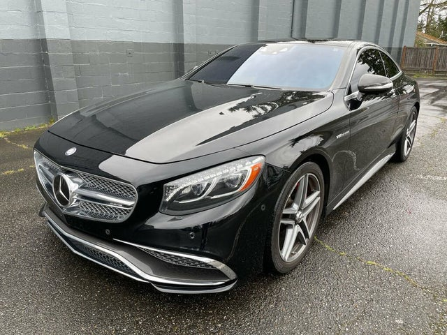 2016 Mercedes-Benz S-Class Coupe S 65 AMG