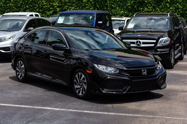 2019 Honda Civic Hatchback LX FWD