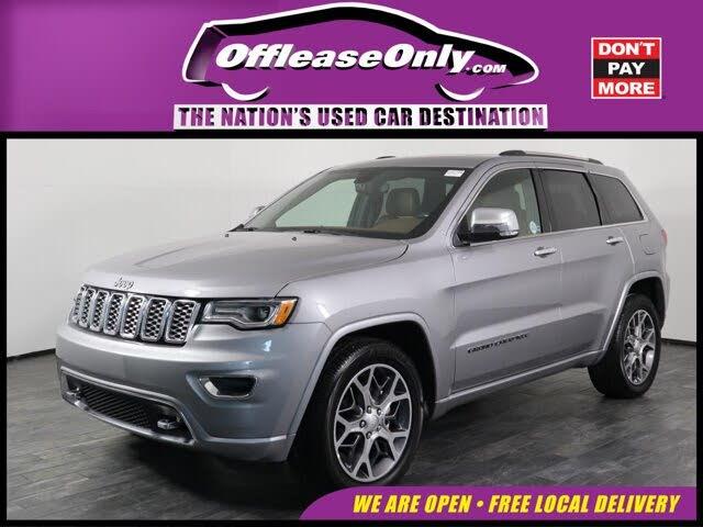 2020 Jeep Grand Cherokee Overland RWD