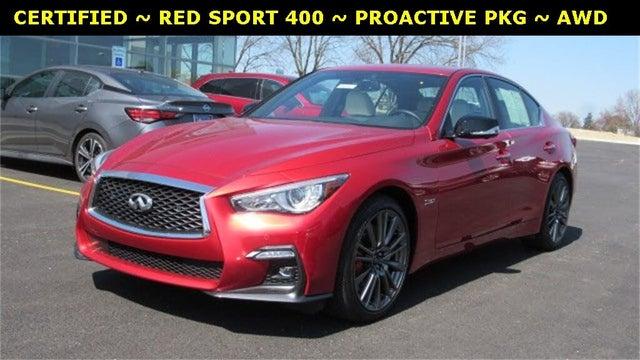 2020 INFINITI Q50 Red Sport 400 AWD