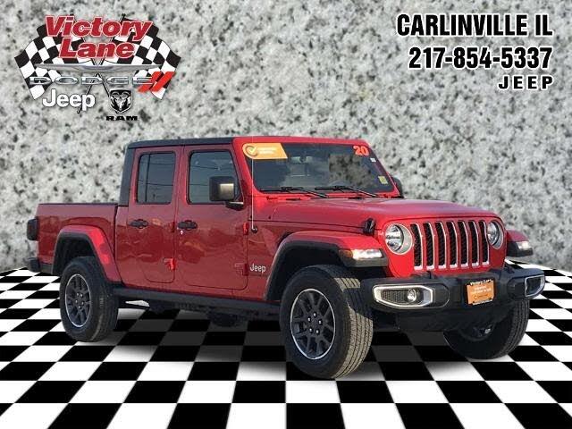 2020 Jeep Gladiator Overland Crew Cab 4WD