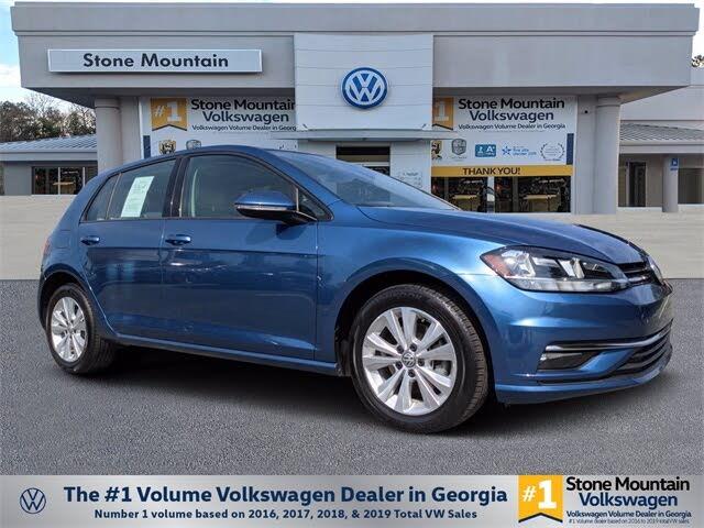2018 Volkswagen Golf 1.8T SE 4-Door FWD