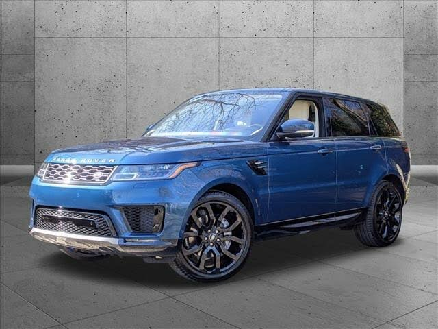 2021 Land Rover Range Rover Sport Silver Edition AWD