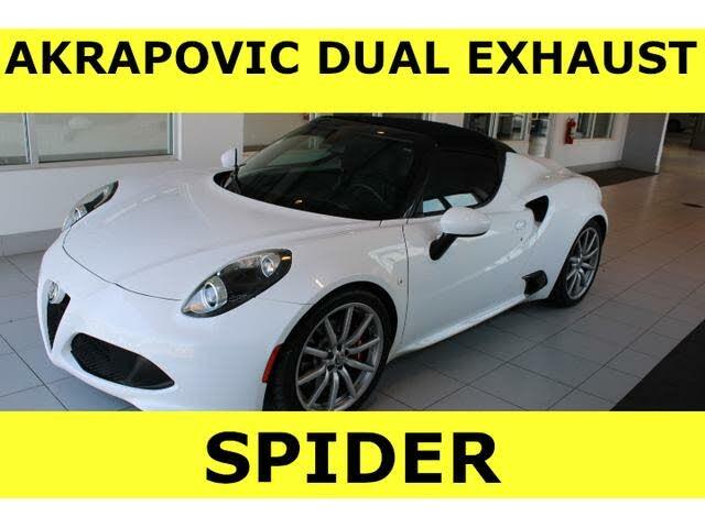 2018 Alfa Romeo 4C Spider RWD