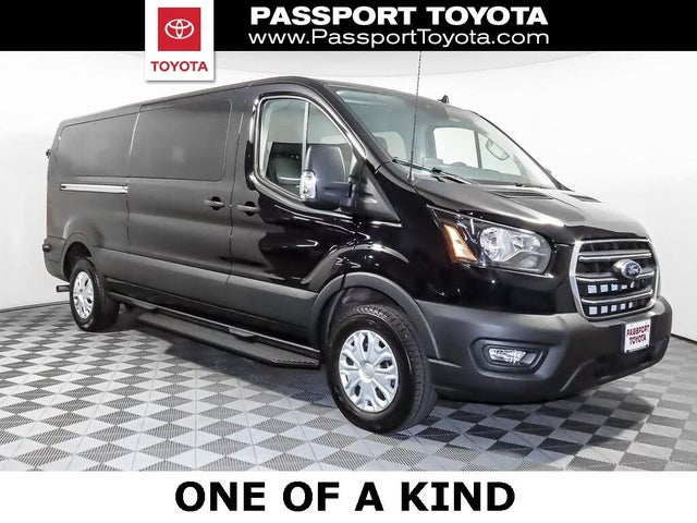 2020 Ford Transit Passenger 350 XL Low Roof LWB RWD with Sliding Passenger-Side Door