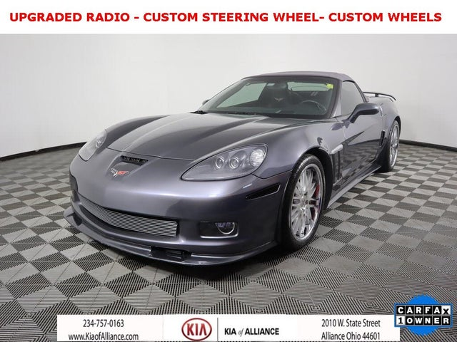 2011 Chevrolet Corvette Z16 Grand Sport 3LT Convertible RWD