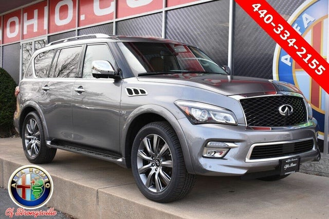 2017 INFINITI QX80 Signature Edition AWD