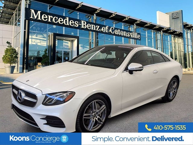 2020 Mercedes-Benz E-Class E 450 4MATIC Coupe AWD