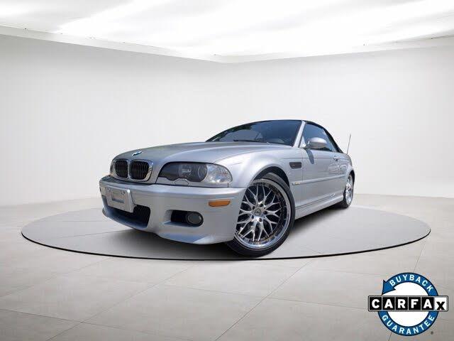2002 BMW M3 Convertible RWD